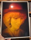 Holographic portrait of the late Princess of Wales: Diana _