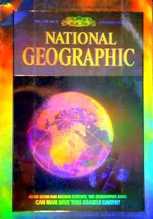National Geographic Earth Hologram cover 1988