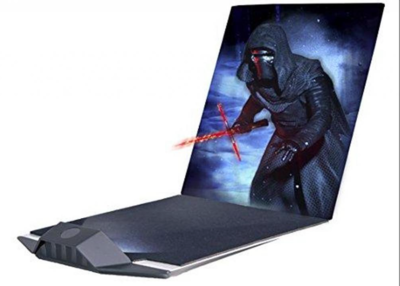 Star Wars 3D Hologram 'Kylo Ren'  (Full-parallax Hologram)